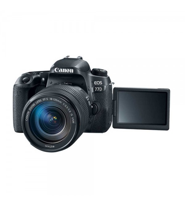 Canon EOS 77D Kit EF-S 18-135mm f/3 5-5 6 IS (Promo Cashback Rp 500 000 +  Free CS100 + Power Adapter PZ-E1)