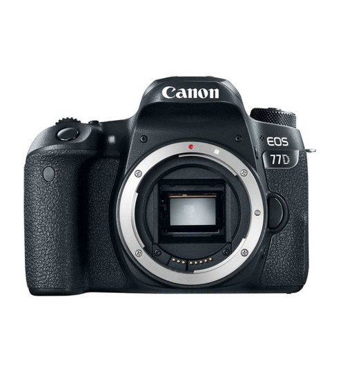 Canon EOS 77D Body Only WiFi (Promo Cashback Rp 800.000 Periode s/d 30 November 2020)
