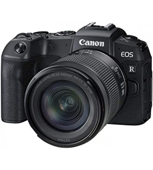 Canon EOS R Kit RF 24-105mm F/4-7.1 IS STM Lens (Promo Cashback Rp 8.000.000 + Free LP-E6N (By Claim))