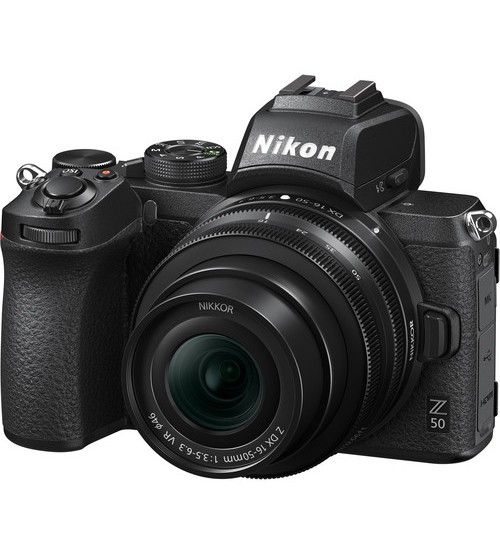 Nikon Z50 Mirrorless Kit 16-50mm (Promo Cashback Rp 2.000.000 + SD Card 16GB + Z Camera Bag + SmallRig + Tripod)