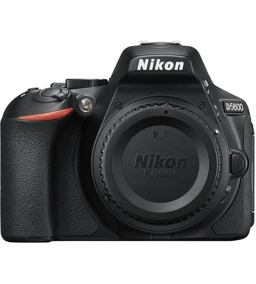 Nikon D5600 Body Only (Promo Cashback Rp 500.000 + Free Lens AF-P DX 18-55mm + SDHC 16GB + Nikon Bag Size M + Battery EN-EL 14A)