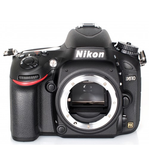 Nikon D610 Body Only (Free MB-D14 + SD Card 16GB + Nikon Bag Size L)