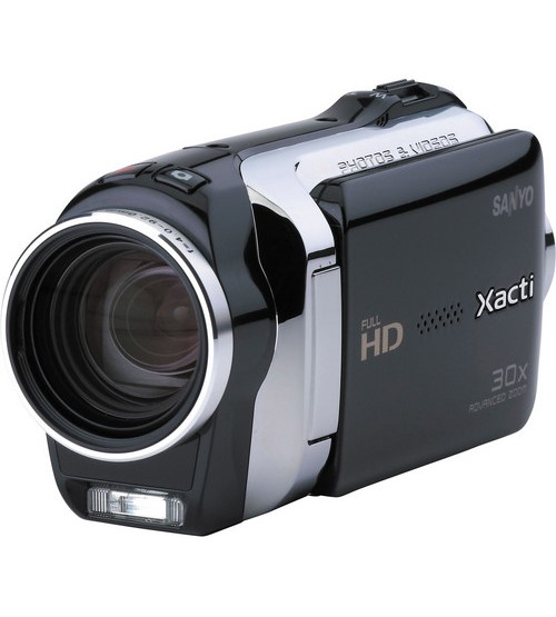 Sanyo VPC-SH1 Dual Camera Black