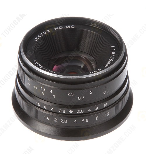 7Artisans For Canon 25mm f/1.8 APS-C