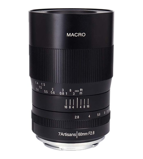 7Artisans For Canon RF Photoelectric 60mm f/2.8 Macro Lens