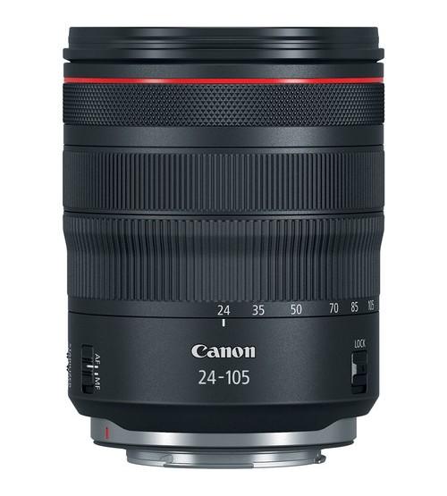 Canon RF 24-105mm f/4L IS USM Lens (Free T-Shirt Giordano)
