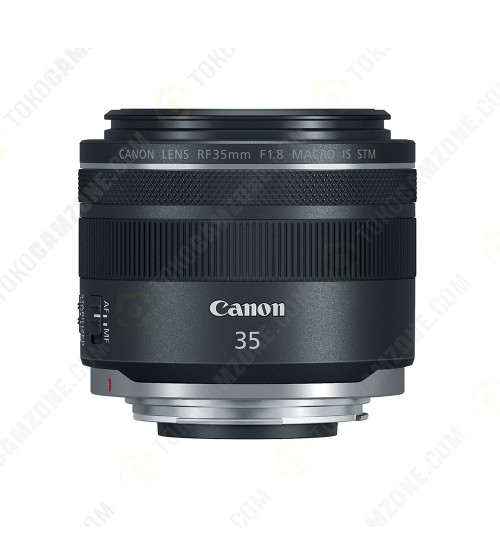 Canon RF 35mm f/1.8 IS Macro STM Lens (Promo Cashback Rp 500.000 s/d 30 April 2021)