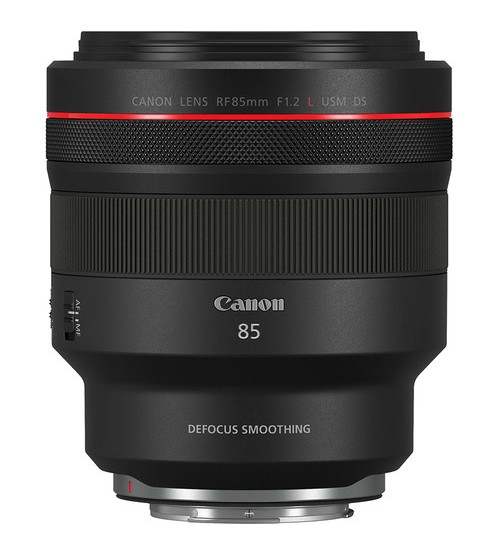 Canon RF 85mm f/1.2L USM DS (Defocus Smoothing)