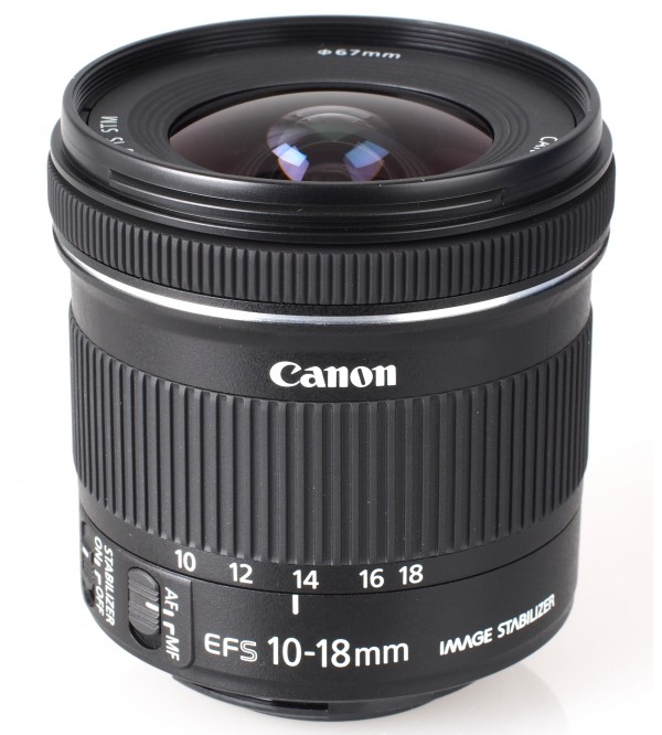 Canon EF S 10 18mm F 45 56 IS STM