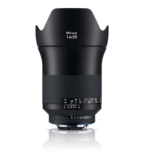 Carl Zeiss 25mm f/1.4 ZF.2 Milvus Lens For Nikon F