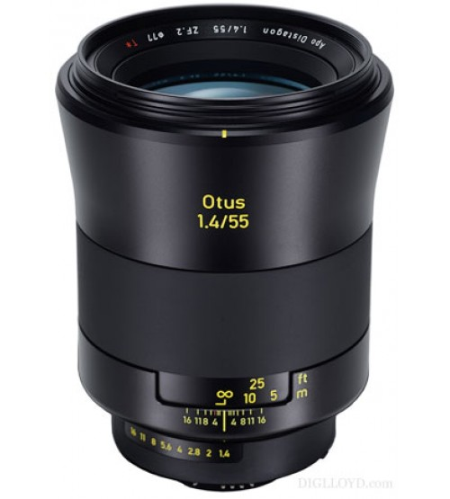 Carl Zeiss For Nikon 55mm f/1.4 ZF.2 Otus For Nikon