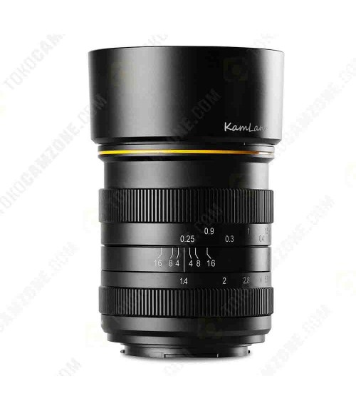 Kamlan for Micro Four Thirds 28mm f/1.4 APS-C