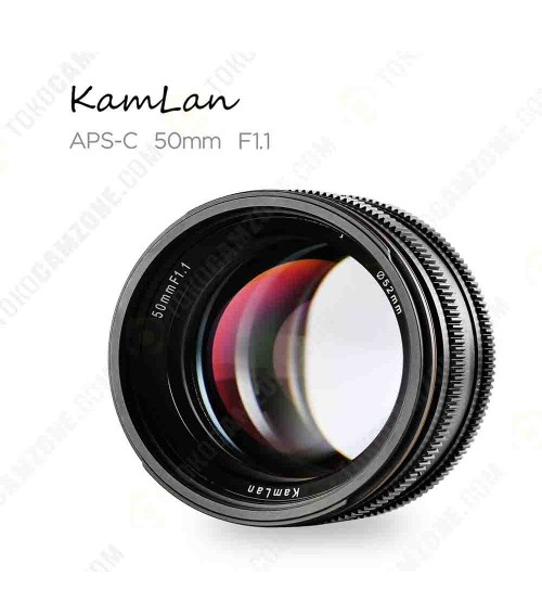 Kamlan for Fuji 50mm f/1.1 APS-C