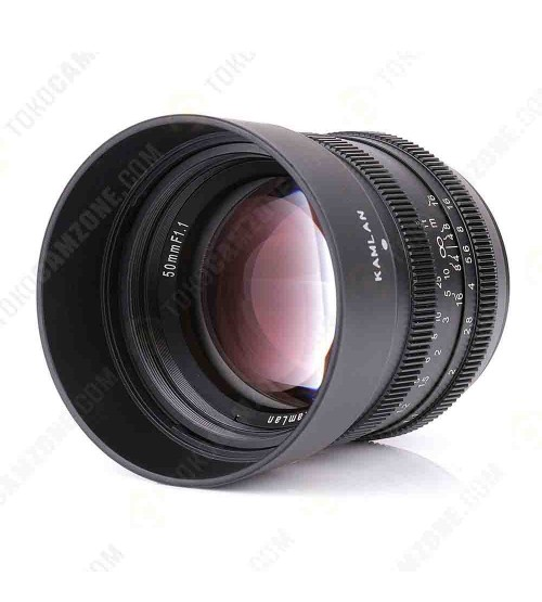 Kamlan for Sony 50mm f/1.1 APS-C
