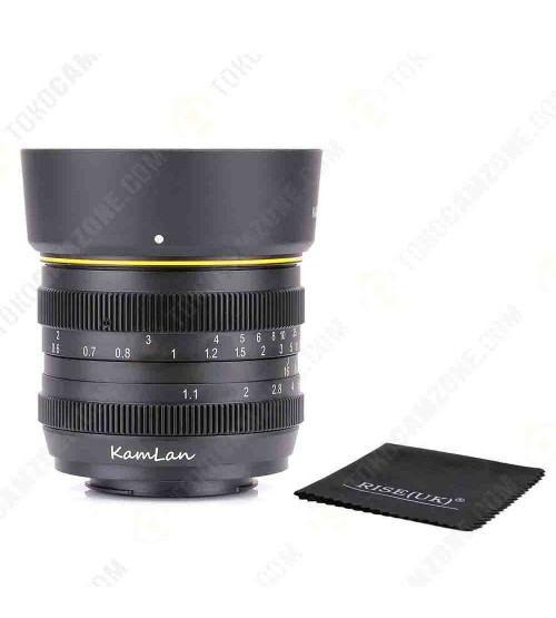 Kamlan for Canon 50mm f/1.1 APS-C