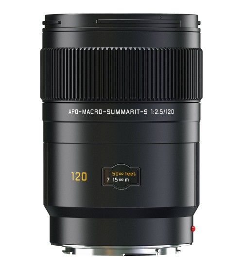 Leica APO Macro Summarit-S 120mm f/2.5