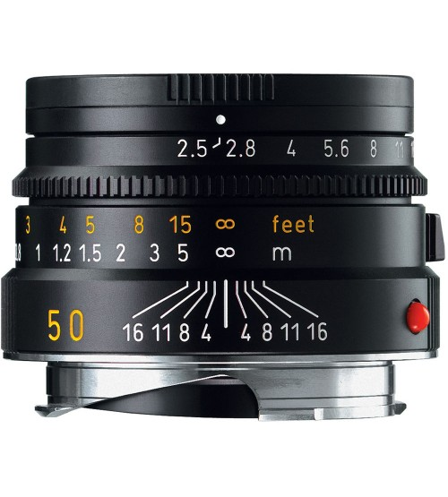 Leica Summarit-M 50mm f/2.5 Black