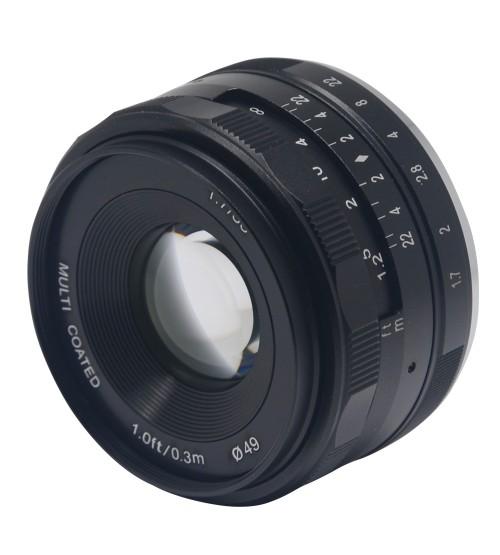 Meike for Fuji 35mm f/1.7 APS-C
