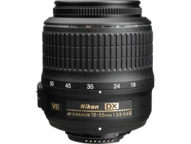 Nikon AF-S 18-55mm f/3.5-5.6G DX VR White Box