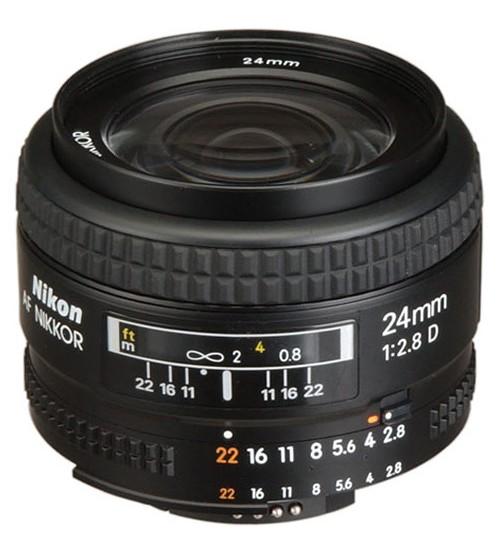 Nikon AF 24mm f/2.8D Nikkor Lens A