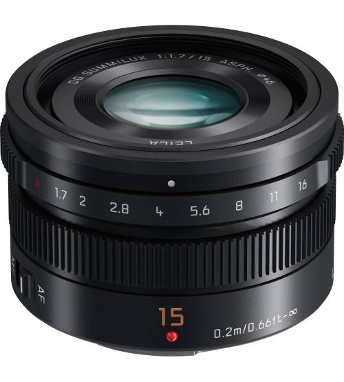 Panasonic Lumix G Leica DG Summilux 15mm f/1.7 ASPH (H-X015K) (Promo Cashback 1.000.000 s/d 28 Februari 2021)