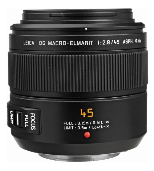 Panasonic Leica DG Macro-Elmarit 45mm f/2.8 ASPH MEGA O.I.S (H-ES045)