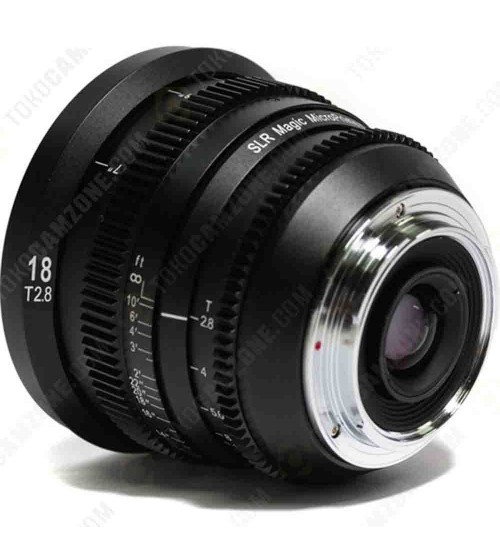 SLR Magic For Sony MicroPrime Cine 18mm T2.8