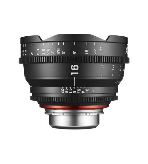Samyang For Canon XEEN 16mm T2.6