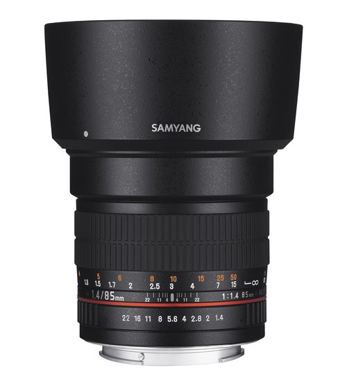 Samyang for Fuji X 85mm f/1.4 Aspherical IF Lens