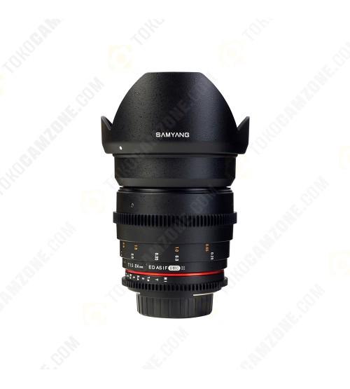 Samyang For Canon 24mm T1.5 VDSLR II