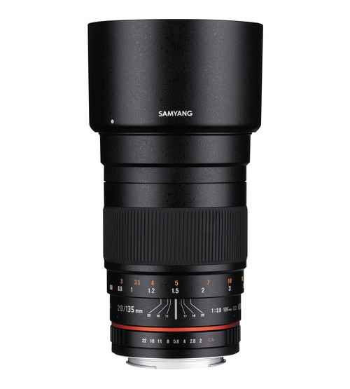 Samyang For Canon 135mm f/2.0 ED UMC