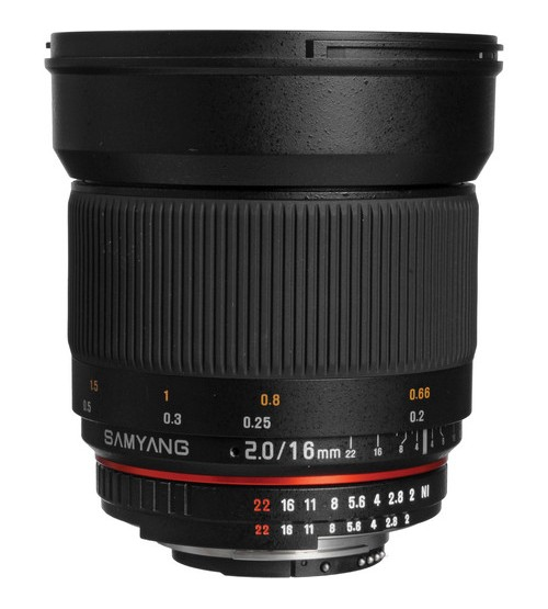 Samyang for Nikon 16mm f/2.0 ED AS UMC CS