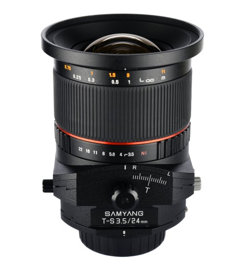 Samyang For Canon T-S 24mm 1:3.5 ED AS UMC