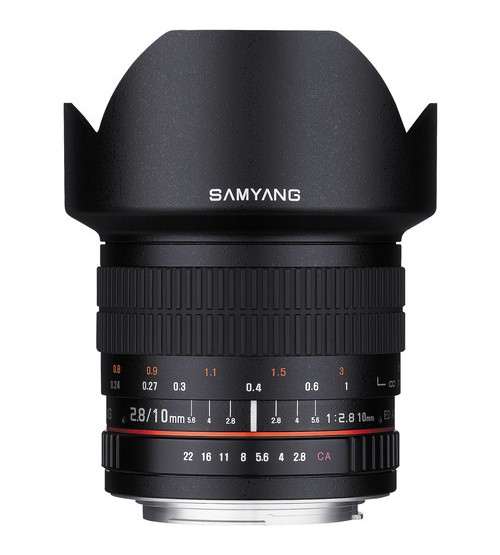 Samyang For Canon 10mm f/2.8 ED AS NCS CS