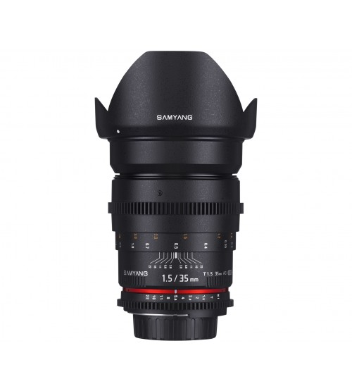 Samyang For Sony NEX / Alpha 35mm T1.5 VDSLR II