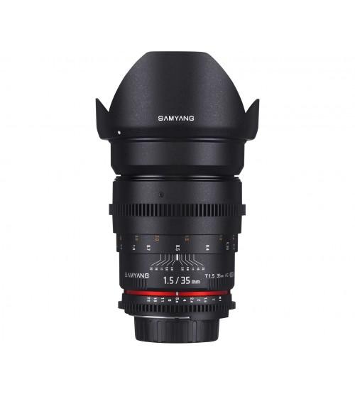 Samyang For Canon 35mm T1.5 VDSLR II