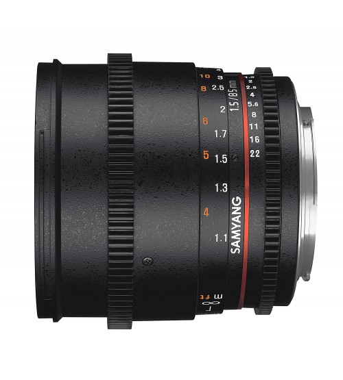 Samyang For Nikon 85mm T1.5 VDSLR II