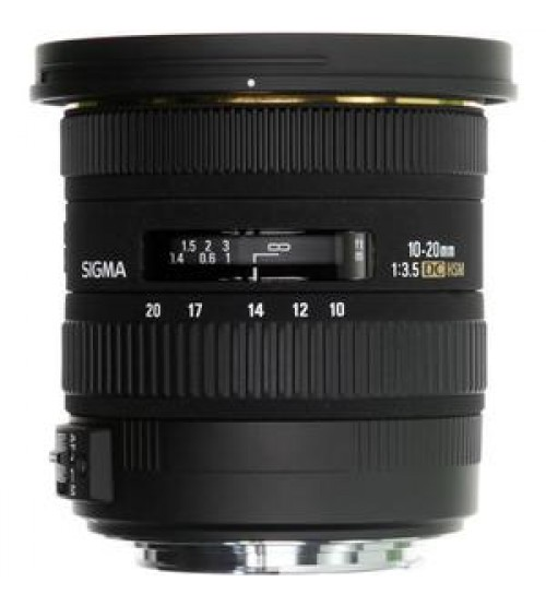 Sigma For Sony 10-20mm F/3.5 EX DC HSM Compatible for Alpha 33 & 55