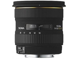 Sigma For Canon 10-20mm F/3.5 EX DC HSM
