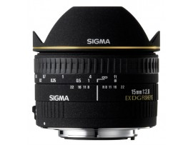 Sigma For Canon 15mm F/2.8 EX DG Diagonal Fisheye