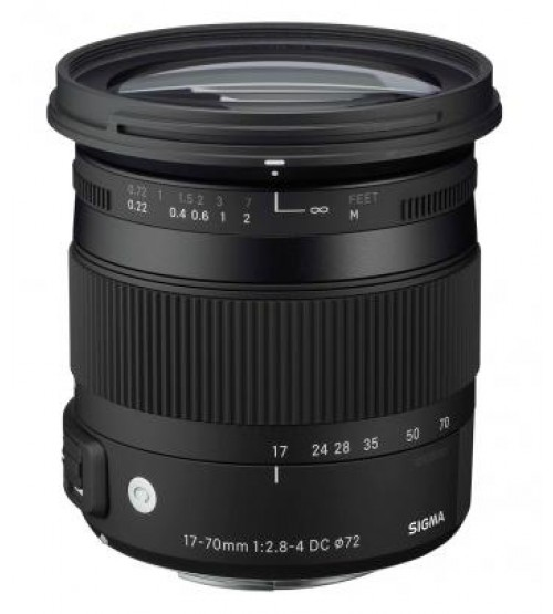 Sigma For Canon 17-70mm F/2.8-4 DC Macro OS HSM | C
