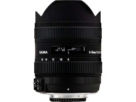 Sigma For Nikon 8-16mm F/4.5-5.6 DC HSM