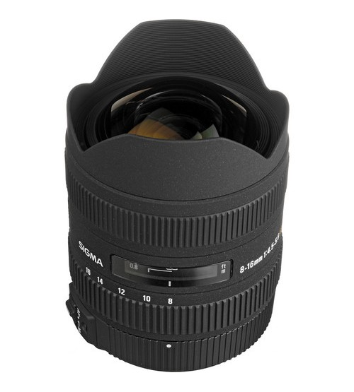 Sigma for Pentax 8-16mm F/4.5-5-6 DC HSM