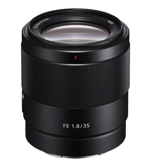 Sony FE 35mm f/1.8 Prime Lens for Full Frame Mirrorless