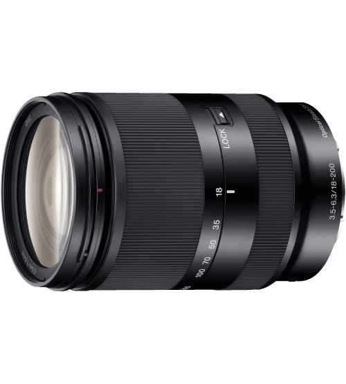 Sony 18-200mm f/3.5-6.3 OSS Zoom LE