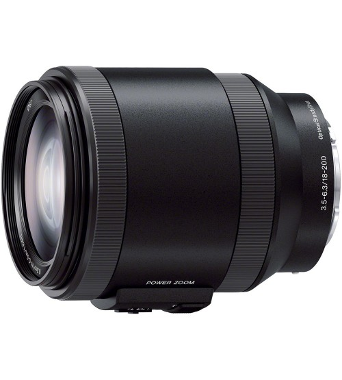 Sony 18-200mm f/3.5-6.3 PZ OSS Alpha E-mount Lens (New model)