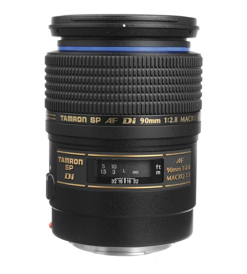 Tamron For Pentax SP AF 90mm f/2.8 Di Macro 1:1 with Hood
