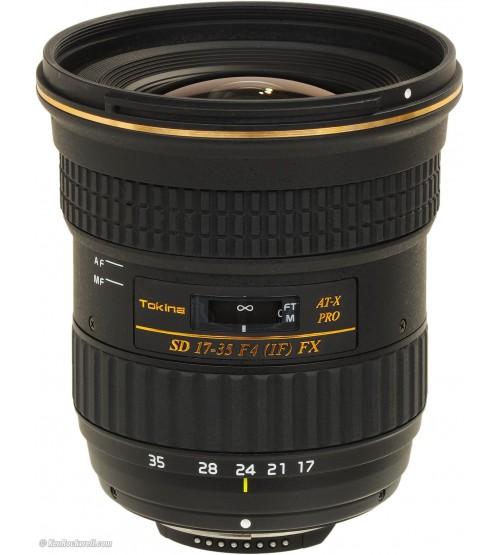 Tokina For Nikon AF 17-35mm f/4 AT-X PRO FX