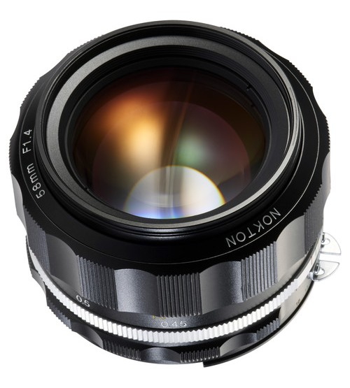 Voigtlander For Nikon Nokton 58mm f/1.4 SL-II S