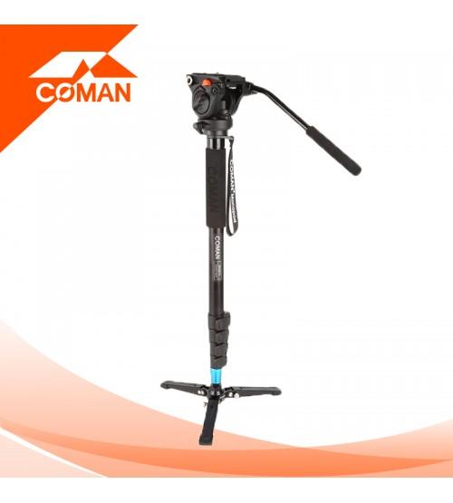 Coman DK327AQ5 Aluminum Monopod